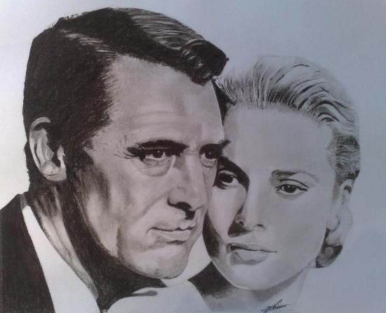 Grace Kelly, Cary Grant por philvero